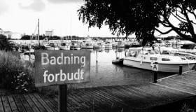 Badning forbudt
